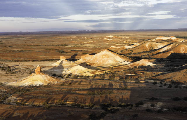 The Painted  Hills – Anna Creek Station